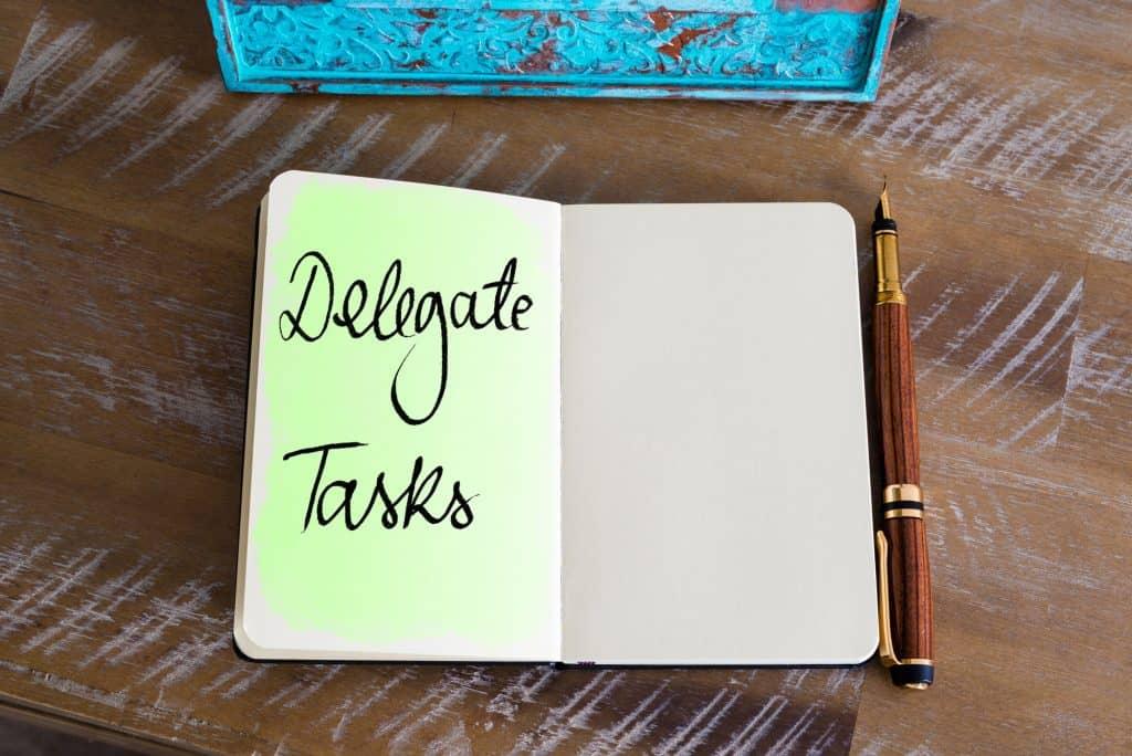 delegate tasks